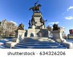 washington monument historic... | Shutterstock . vector #634326206