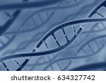 Small photo of DNA model