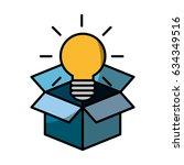 bulb light design   Shutterstock .eps vector #634349516