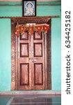 Small photo of House style in rural village Zidke, Bhiwandi, Thane, Maharashtra, India, South East Asia.