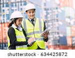 foreman control loading... | Shutterstock . vector #634425872