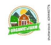 farm house concept logo.... | Shutterstock . vector #634440776