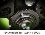 overhaul engine | Shutterstock . vector #634441928