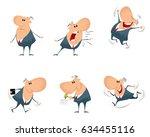 vector illustration of a six... | Shutterstock .eps vector #634455116