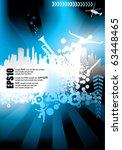 urban vector composition | Shutterstock .eps vector #63448465