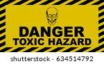 Toxic Hazard Sign