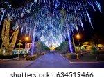 beautiful light show on the... | Shutterstock . vector #634519466