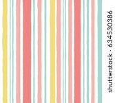 simple pattern with stripes in... | Shutterstock .eps vector #634530386
