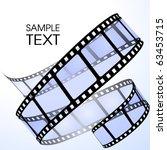 film strip   Shutterstock .eps vector #63453715