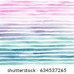 Watercolor Ombre Colorful Hand...