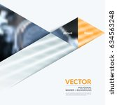 business vector design elements ... | Shutterstock .eps vector #634563248