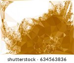 abstract color monochrome... | Shutterstock .eps vector #634563836