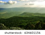 beautiful scenery mountain with ...   Shutterstock . vector #634601156