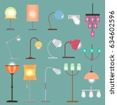 Modern Indoor Lights Set With...