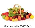 Large Fruit Collection In An...