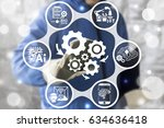 industry 4.0   innovation it... | Shutterstock . vector #634636418