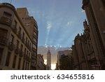 mexico city mexico september 14 ... | Shutterstock . vector #634655816