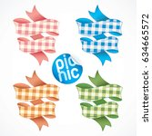 4 Picnic Tablecloth Ribbons