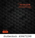 abstract hexagon vector... | Shutterstock .eps vector #634671248