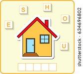 worksheet for preschool kids ...   Shutterstock .eps vector #634696802