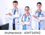 healthcare and medical   young... | Shutterstock . vector #634716542