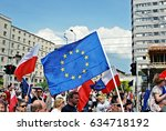 warsaw.poland. 6 may 2017... | Shutterstock . vector #634718192