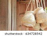 wicker | Shutterstock . vector #634728542