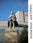 statue of jb priestley  born in ...