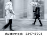 business people walking in the... | Shutterstock . vector #634749305