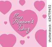 mother's day vector illustration   Shutterstock .eps vector #634759652