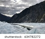 riverbed at franz josef glacier | Shutterstock . vector #634782272
