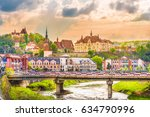 sighisoara fortress ...   Shutterstock . vector #634790996