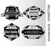 vintage background label style... | Shutterstock .eps vector #634807568