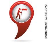 brazier  zephyr  chicken and... | Shutterstock .eps vector #634818992