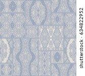 vector abstract seamless...   Shutterstock .eps vector #634822952