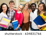 group of multi ethnic students...   Shutterstock . vector #634831766