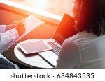 professional medical doctor in... | Shutterstock . vector #634843535