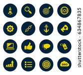 internet marketing icons   seo  ... | Shutterstock .eps vector #634867835