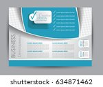flyer  brochure  billboard... | Shutterstock .eps vector #634871462