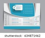 flyer  brochure  billboard... | Shutterstock .eps vector #634871462