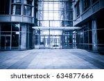 exterior of modern buildings | Shutterstock . vector #634877666
