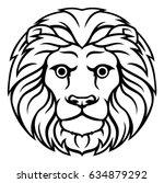 astrology horoscope zodiac sign ... | Shutterstock .eps vector #634879292