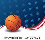 basketball  vector  | Shutterstock .eps vector #634887686