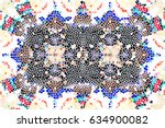 mosaic colorful pattern for... | Shutterstock . vector #634900082