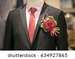 close up of excellent expensive ... | Shutterstock . vector #634927865