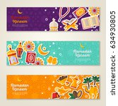 ramadan kareem concept... | Shutterstock .eps vector #634930805