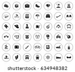 travel icons | Shutterstock .eps vector #634948382