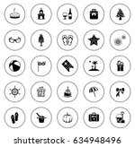 holiday icons | Shutterstock .eps vector #634948496