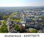 aerial view aachen germany    Shutterstock . vector #634970075