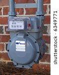 Utility Meter - stock photo